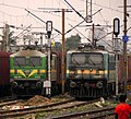 LDH based WAG-7 loco - 28078 and LGD based WAG-9 loco - 31238.jpg
