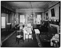 LIVING ROOM, SOUTHWEST CORNER, FIRST FLOOR - Wilderstein, Morton Road, Rhinebeck, Dutchess County, NY HABS NY,14-RHINB.V,4-23.tif