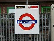 LU Leytonstone sign