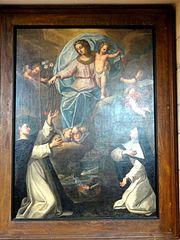 Remise du Rosaire à saint Dominique