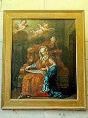 Education de la Vierge