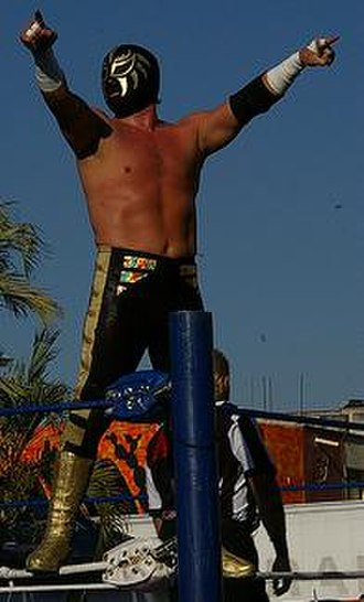 NWA World Historic Light Heavyweight Championship - Image: La Sombra