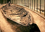 The Ladby ship, the only ship burial found in Denmark