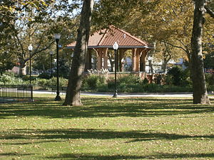 Bergen-Lafayette, Jersey City - Gazebo at Lafayette Park