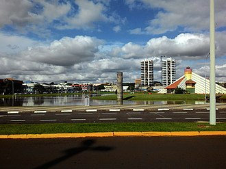 Toledo, Paraná - View of the lake