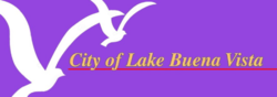 Official seal of Lake Buena Vista, Florida