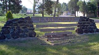Lake Creek, Oregon Unincorporated community in Oregon, United States