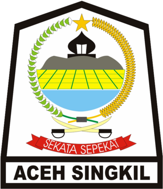 Aceh Singkil Regency - Image: Lambang Kabupaten Aceh Singkil