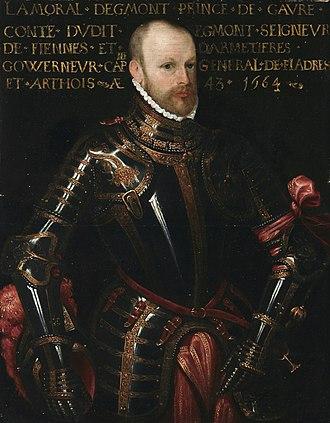 Lamoral, Count of Egmont - Lamoraal, graaf van Egmont 1522 - 1568