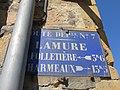 Lamure-sur-Azergues - Plaque de cocher RD 385 (mars 2019).jpg