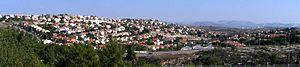 Lapid - View of Lapid and Kfar HaOranim