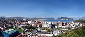 Laredo, Cantabria - Panoramic view of Laredo center