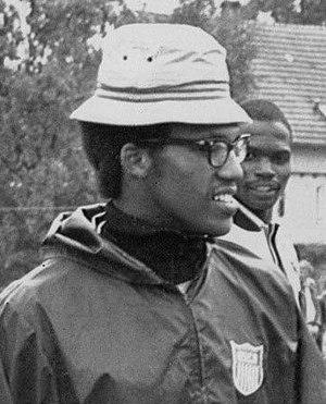 Larry Burton - Burton at the 1972 Olympics