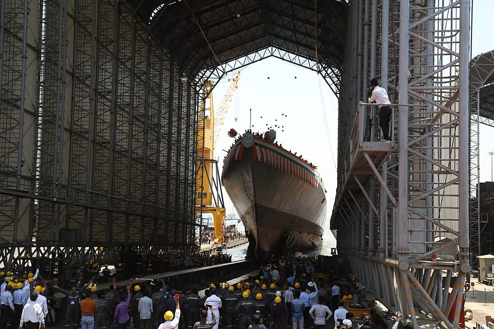 Launch of INS Imphal 03