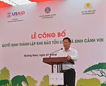 Launching of Elephant Protection Area in Quang Nam Province (36266057303).jpg