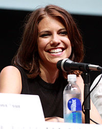 Lauren Cohan på San Diego Comic-Con International 2013.