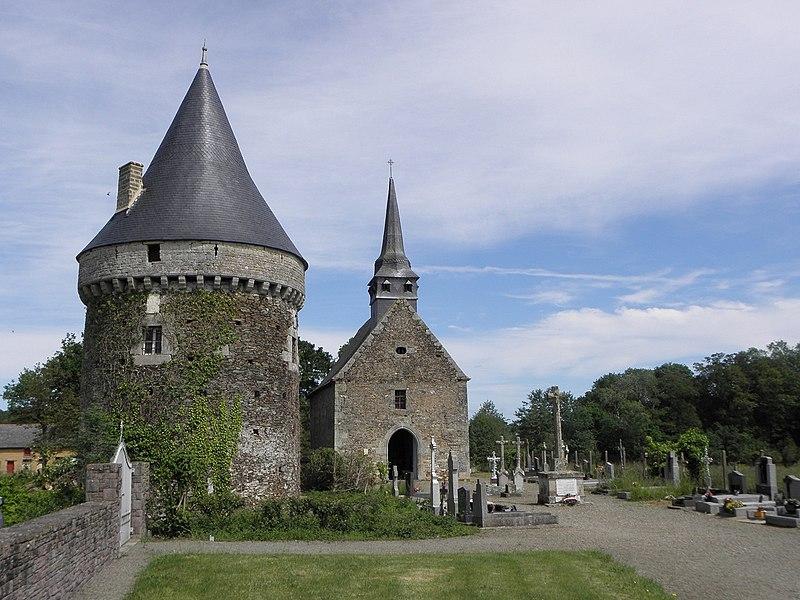 Église Saint-Loup du Lou-du-Lac (35).
