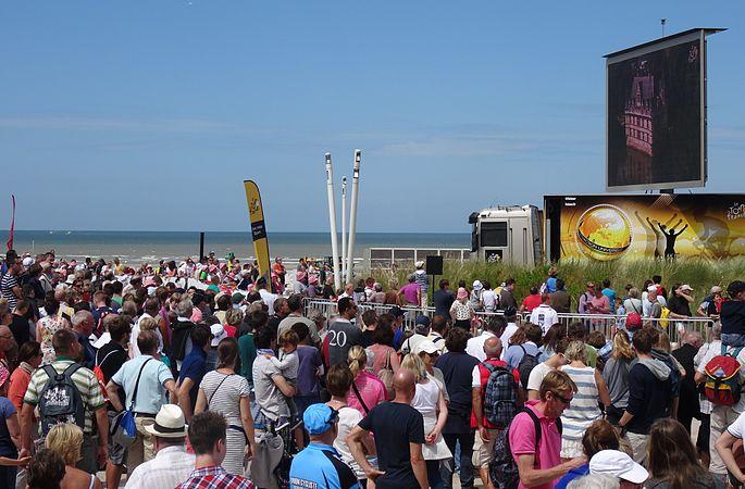 Le Touquet-Paris-Plage - Tour de France, étape 4, 8 juillet 2014, départ (A61).JPG