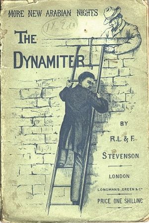 More New Arabian Nights: The Dynamiter - First edition book cover