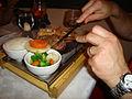 Le petit restaurant - Hot Stone Dinner (2889209212).jpg