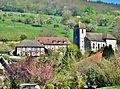 Le village vu du coteau de derrière l'église.jpg
