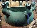 Lebes bronzea con protomi, da tomba regolini-galassi di cerveteri, 675-650 ac ca..JPG