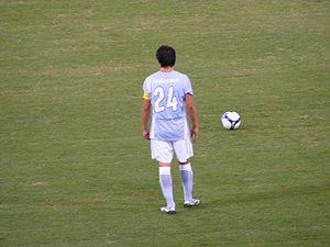 Cristian Daniel Ledesma - Cristian Ledesma with Lazio.