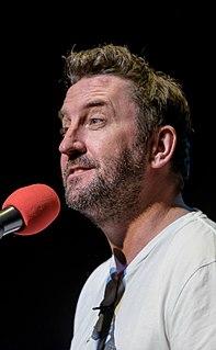 Lee Mack British comedian