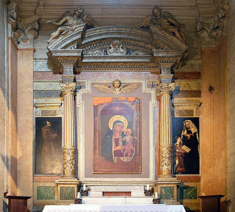 Vänster sida kapellet i Santa Maria sopra Minerva.jpg