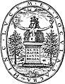 Legate John, Alma Mater Cantabrigia Emblem 1600 (1928 print).jpg