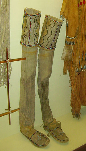 Leggings - Leggings of the Native Americans (Karl May Museum, Radebeul)