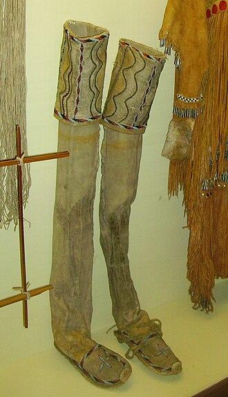 Leggings - Leggings of the Native Americans (Karl May Museum, Radebeul)