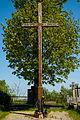 Legionowo - Krzyz na cmentarzu przy Alei Legionow.jpg