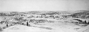 Forges du Saint-Maurice - Image: Les Forges de St. Maurice, Three Rivers, QC, 1888