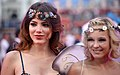 Life Ball 2014 red carpet 050 Amina Dagi Stephanie Meier-Stauffer.jpg