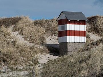 Light beacon at Nørre Vorupør 2.jpg