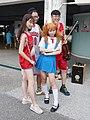 Lily Cao, Dabao Lin, Boy and EVA Asuka cosplayer 20200704b.jpg