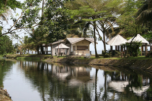 A tourist area in Limbe