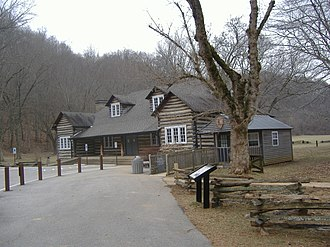 Knob Creek Farm - Image: Lincoln Knob Creek Tavern 2