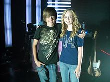 Lindee Link with Luke Benward.jpg