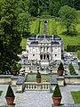 Linderhof Terrassengärten mit Blick auf Schloss Linderhof.jpg