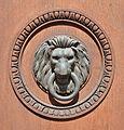 Lion door knocker, Palais Pallavicini, Josefsplatz.jpg