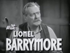 The Bad Man (1941 film) - Barrymore in the trailer