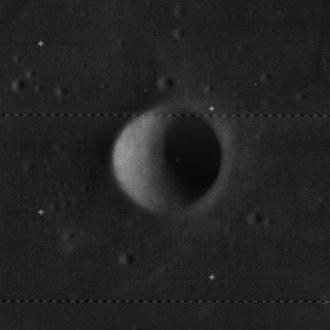 Lippershey (crater) - Lunar Orbiter 4 image