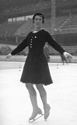 Liselotte Landbeck - Liselotte Landbeck at the 1932 European Championships