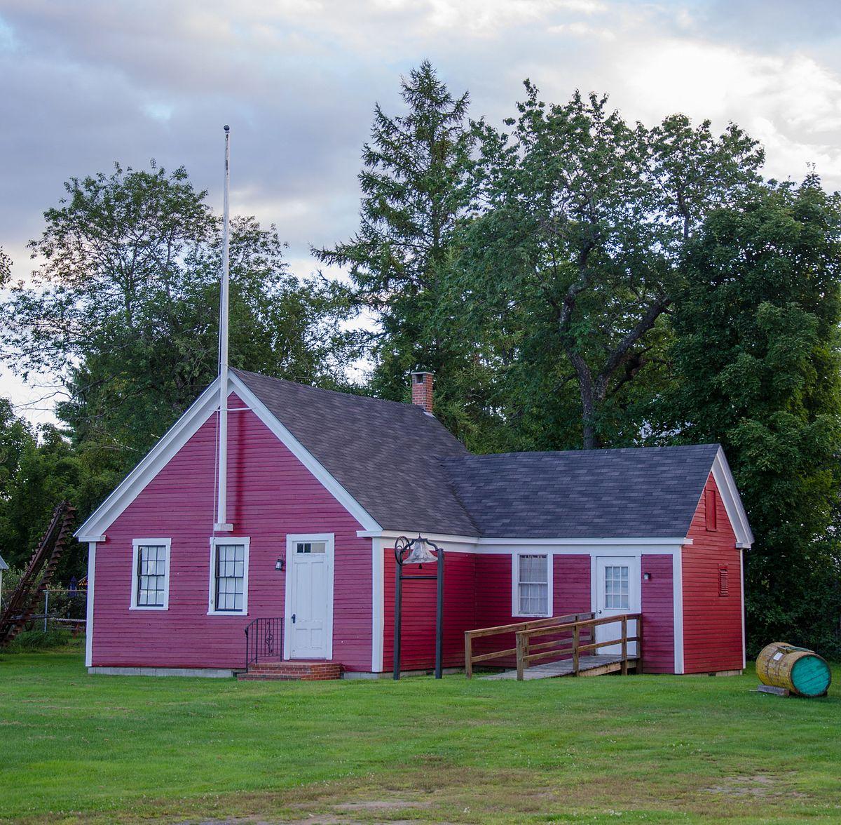 Little Red Schoolhouse Farmington Maine