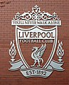 Liverpool FC crest on Walton Breck Road.jpg