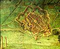 Livorno map of the town (1609) by Bernardino Poccetti 01.jpg