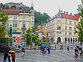 Ljubljana Old Town, Slovenia (Old Camera) (33624137331).jpg
