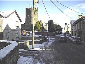 Llandybie village first bit of snow for a long time - geograph.org.uk - 85783.jpg